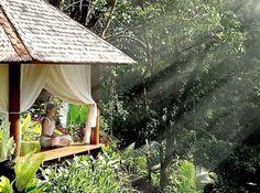 terrasse idées de conception plantes de balcon yoga sur la terrasse