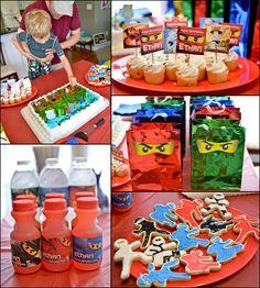 lego ninjago birthday party - Google Search