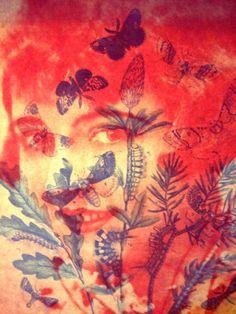 RICAMI DI COLLA: Botanic faces