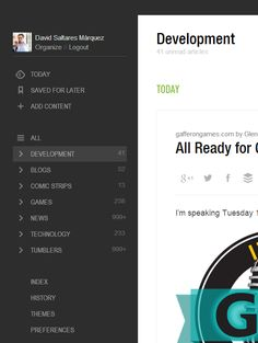 Feedly Sidebar