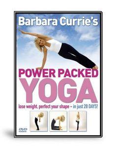 Barbara Currie: Power Packed Yoga [DVD]: Amazon.co.uk: Barbara Currie: DVD & Blu-ray