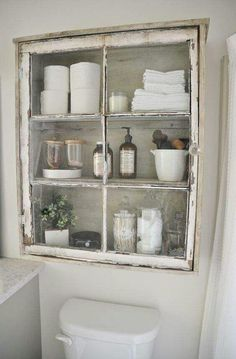 Window pane medicine cabinets