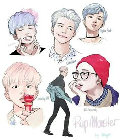Rap Monster Bts
