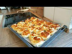 Rulo Poğaça Tarifi-Yumusacik puf puf kabaran cok lezzetli mayali pogacamiz-Hatice Mazi - YouTube