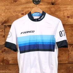 Seven White Jersey. Jason Flynn · Cycling gear 647cc4596