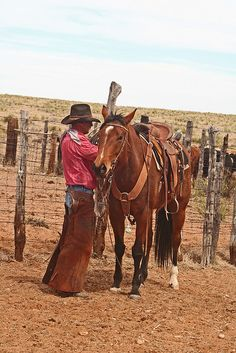 The daily routine for a true cowboy is not easy, but what a GREAT way to spend your days.