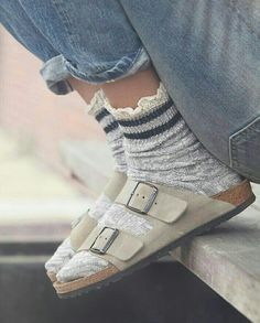 Socks with Birkenstocks