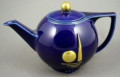 1939 NY World's Fair Teapot by Hall China