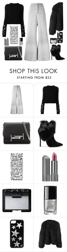 """""""Untitled #614"""" by jovana-p-com ❤ liked on Polyvore featuring STELLA McCARTNEY, McQ by Alexander McQueen, Tod's, Schutz, Bite, NARS Cosmetics, Chanel and Balenciaga"""