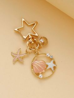 Trendy Accessories, Fashion Accessories, Bling Phone Cases, Gold Coin Necklace, Gold Coins, Key Rings, Starfish, Shells, Girly