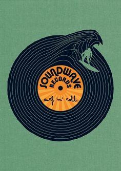 Work » Björn Siems » Design & Illustration. #djculture #djart #musicart http://www.pinterest.com/TheHitman14/dj-culture-vinyl-fantasy/