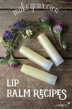 A Complete Guide to Making Your Own Lip Balm Recipes