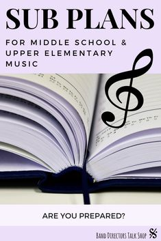 Awesome sub plans for band directors or elementary music teachers! Music Sub Plans, Music Lesson Plans, Music Lessons, Piano Lessons, Music Classroom, Music Teachers, Music Education, Future Classroom, Music Theory Games