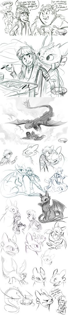 Httyd Stuff (spoilers) by sharpie91 on deviantART - How to Train Your Dragon Fanart