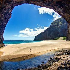 Honopu Beach, Kauai, Hawaii                                                                                                                                                                                 More