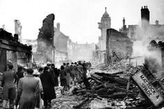 In light of the recent wave of terror attacks in Manchester and London, the spirit of the Blitz serves as a timely reminder of how Britain has always reacted in the face of such atrocities. Dresden, Coventry Blitz, Underground Shelter, Elephant And Castle, Ruined City, Military Records, The Blitz, Air Raid, The Third Reich