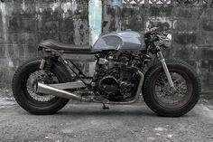 Custom Honda CBX750F by Half Caste Creations of Bangkok.