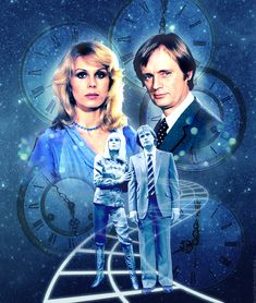 Classic ATV series Digital artwork by Alistair McGown © Starring Joanna Lumley and David McCallum. Joanna Lumley, David Mccallum, Fantasy Tv, Picture Boxes, Sci Fi Horror, Atv, Singer, Actresses, Stars