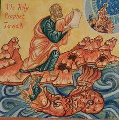 Holy Prophet Jonah by Amara DeRienzo