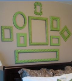 Wall art placements