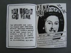 punk zines - Google Search