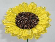 french beaded flowers tutorial - Hledat Googlem