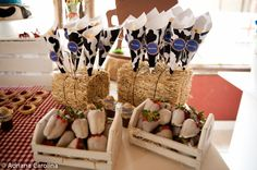 Chocolate Farm 1st Birthday Party | | Kara's Party IdeasKara's Party Ideas