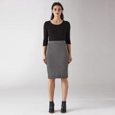 Winston Ponti Pencil Skirt .