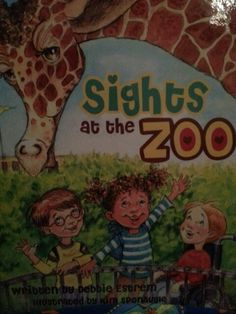 A book that teaches kids about wheelchairs and that it's no big deal to have one.