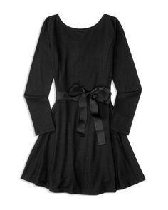 Ralph Lauren Childrenswear Girls' Belted Flared Knit Dress - Sizes S-XL   Bloomingdale's