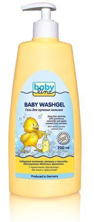 Гель для купания Babyline, 500 мл.  — 273р. -------------------- Гель для купания малыша Babyline специально разработан для ежедневной очистки чувствительной кожи Вашего малыша. Протестировано аллергологами.