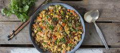 Grill Pan, Fried Rice, Risotto, Food To Make, Grains, Grilling, Dinner, Cooking, Ethnic Recipes