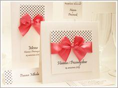 LIBRETTO eleganckie zaproszenia ślubne, na ślub ! Place Cards, Place Card Holders, Calm