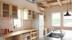 キッチン背面収納造作 - Google 検索                                                                                                                                                                                 More