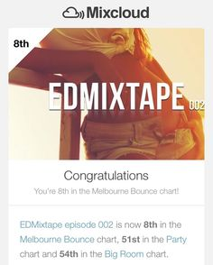 And again. Climbing up to the top!  Thank you for your support #edmfamily  http://bit.ly/edmixtape002