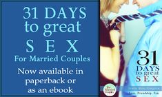 31 Days to Great Sex for Married Couples - married, not shacking or anything else.