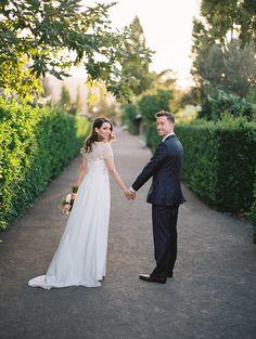 Photography: Brumley And Wells - brumleyandwells.com  Read More: http://www.stylemepretty.com/2015/02/10/elegant-summer-sonoma-wedding/