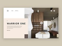 Business Plan Template Discover Warrior One Warrior One whitespace interior design interior typography grid logo e-shop grey design website web minimal landing homepage e-commerce concept clean ux ui Web Banner Design, Layout Design, Website Design Layout, Web Layout, Ux Design, Creative Design, Minimal Website Design, Design Ideas, Website Designs