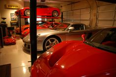 World's Most Beautiful GARAGES & Exotics: Insane GARAGE PICTURE THREAD! 50+ Pics! - Page 4