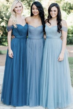 Bridesmaid Tulle Bridesmaid Dresses,Long Bridesmaid Gown,Wedding Party Dresses · Starry Girl Dress · Online Store Powered by Storenvy Bridesmaid Dresses Long Blue, Tulle Bridesmaid Dress, Wedding Bridesmaids, Off Shoulder Bridesmaid Dress, Light Blue Bridesmaids, Infinity Dress Bridesmaid, Plus Size Bridesmaid, Prom Dres, Affordable Bridesmaid Dresses