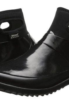 Bogs Seattle Solid Mid (Black) Women's Rain Boots - Bogs, Seattle Solid Mid, 71555-001, Footwear Boot Rain, Rain, Boot, Footwear, Shoes, Gift, - Street Fashion And Style Ideas