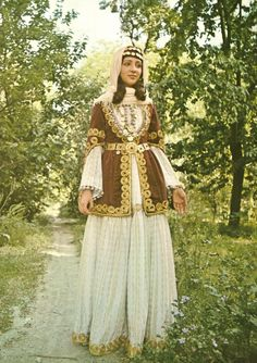 A bride from Shamakh (19th century).  from The Costumes of Armenian Women by Gregory Lima (Tehran, 1974).