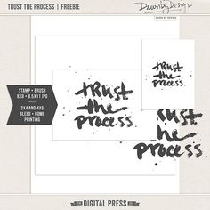 Quality DigiScrap Freebies: Trust the Processes freebie from Dawn By Design