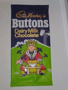 When I was a child Cadbury's buttons had Nursery Rhymes on them.