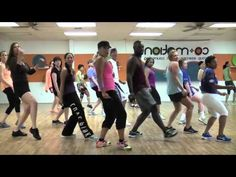 "Zumba-""Blurred Lines"" choreography by Lauren Fitz, one of my favorite Youtube Zumba teachers."