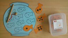 getalbeelden en cijfers Gross Motor Activities, Preschool Learning Activities, The Ocean, Montessori, Ocean Unit, Curious Kids, Ocean Crafts, Rainbow Fish, Letter Activities