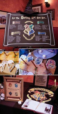 Harry Potter Hochzeit Sitzplan