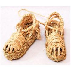 Zapatillas de Esparto en miniatura - Espartería Juan Sánchez