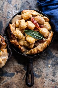 Thanksgiving Turkey Hot Dish - layer of croissants, turkey, gravy, cheese, crispy prosciutto, topped off with tater tots - so simple! @ halfbakedharvest.com