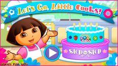 #Gameplay Dora the Explorer : Let's Go, Little Cooks - Games for Kids